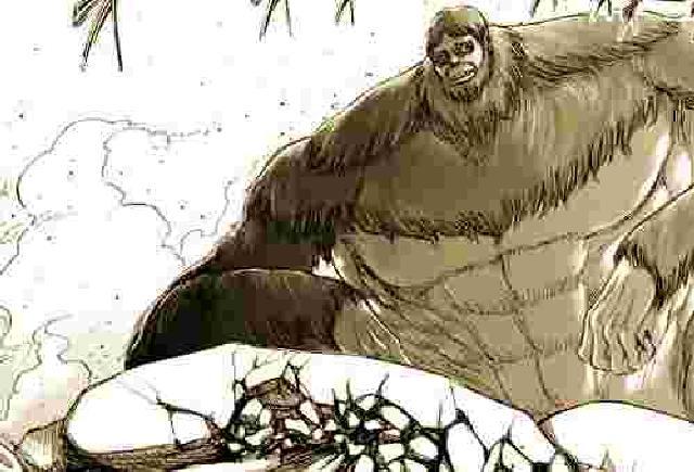 進撃の巨人獣の巨人